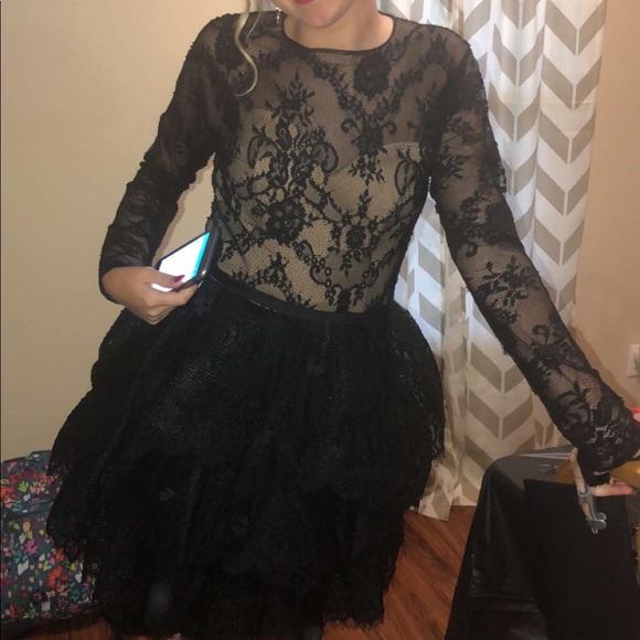 Sherri Hill Dresses & Skirts - Sherri Hill Lace Homecoming Dress